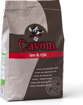Cavom ompleet - Lam & Rijst- Hondenvoer - 5 kg