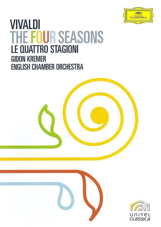 Cover van de film 'A. Vivaldi - Four Seasons'