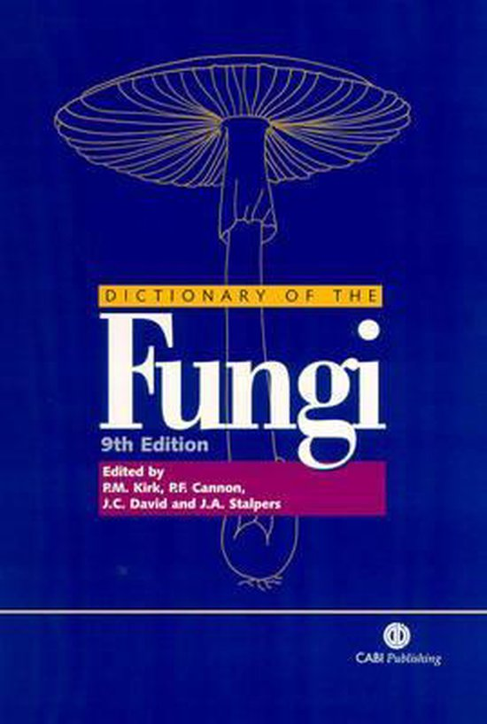Afbeelding van Ainsworth and Bisbys Dictionary of the Fungi