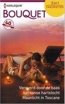 Bouquet Favorieten 450 - Veroverd door de baas ; Italiaanse hartstocht ; Maanlicht in Toscane