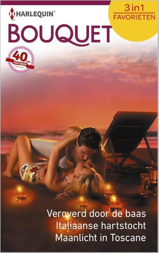 Veroverd door de baas / Italiaanse hartstocht / Maanlicht in Toscane - Bouquet Favorieten 450, 3-in-1 - Cathy Williams |
