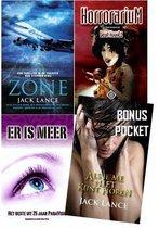 Mystery surprise set van 4 Als je me niet kunt horen; Horrorarium; Er is meer; Zone