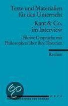 Kant & Co. im Interview