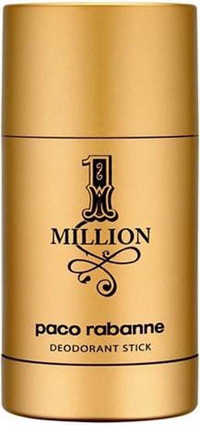 MULTI BUNDEL 4 stuks Paco Rabanne One Million Deodorant Stick 75ml
