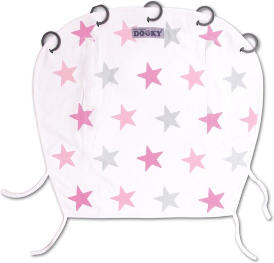 Dooky Universal Cover Design - Pink Stars