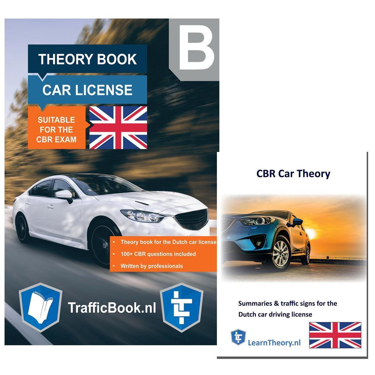 AutoTheorieboek - Engels - Rijbewijs B 2021 + Engelse Auto Theorie Boek Samenvatting - Auto Theorie