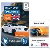 Boek cover AutoTheorieboek - Engels - Rijbewijs B 2021 + Engelse Auto Theorie Boek Samenvatting - Auto Theorie Rijbewijs B 2021 Engels van Leertheorie (Paperback)