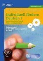 Individuell fördern: Deutsch 5. Lesen