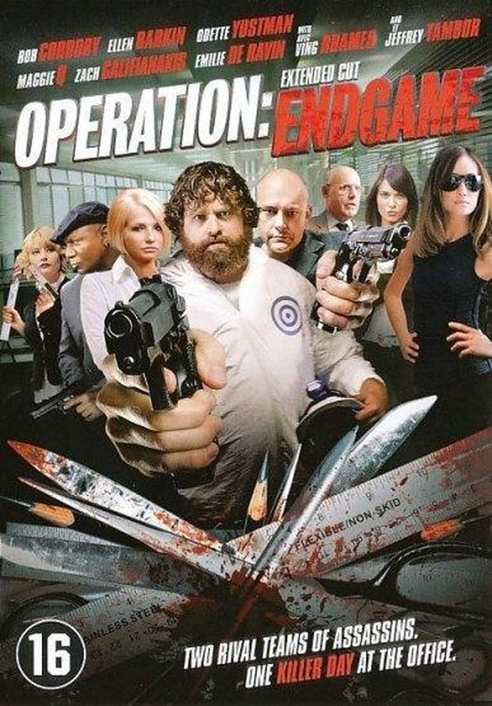 Cover van de film 'Operation: Endgame'
