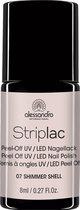 Alessandro Striplac - 07 Shimmer Shell - Gelnagellak