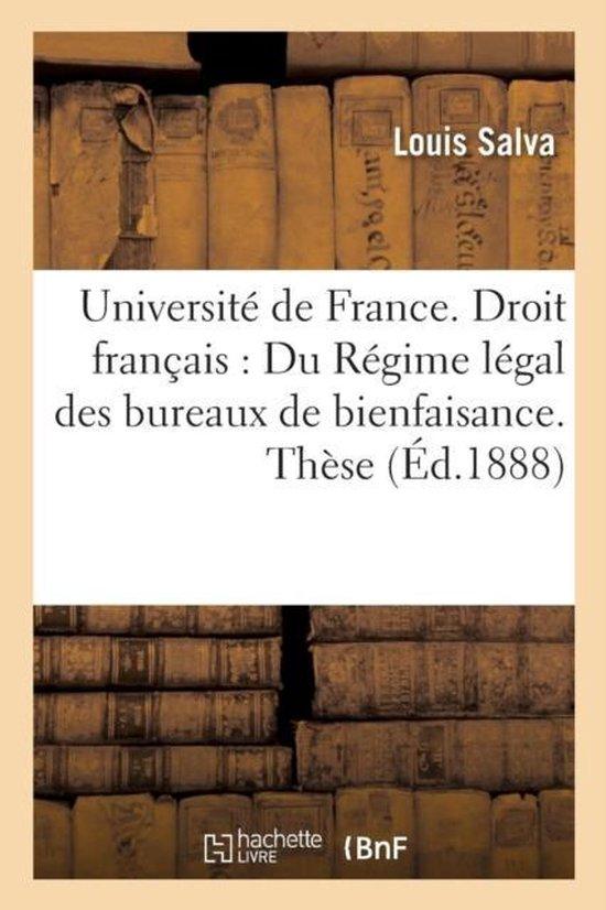 Universite de France. Droit Francais