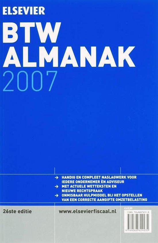Elseviers Btw-Almanak - none |