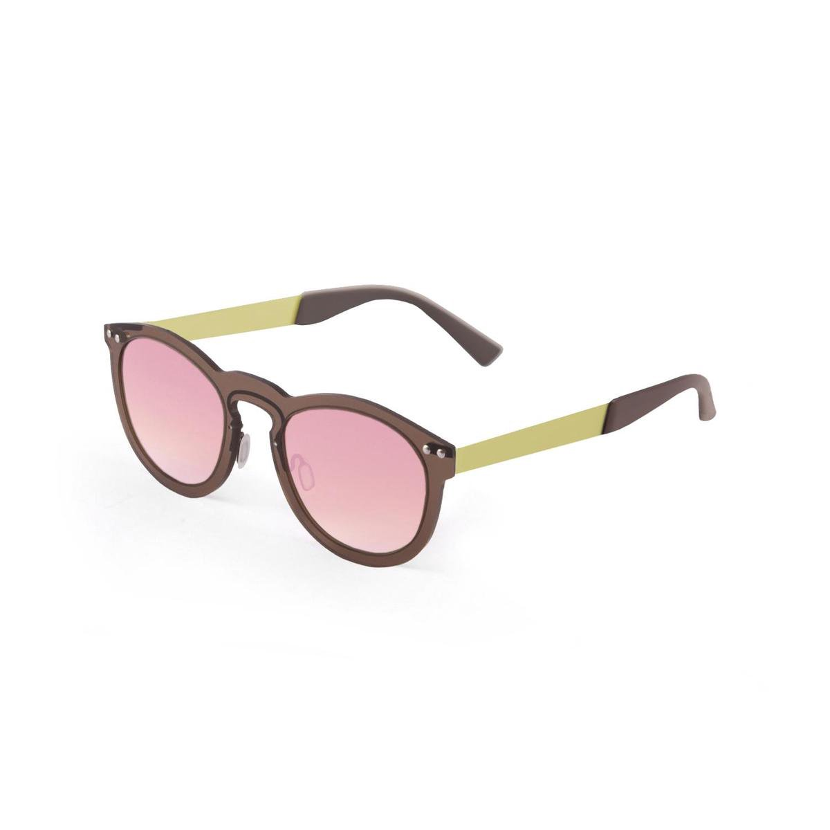 Ocean Sunglasses - Zonnebril - Unisex - 21.26_IBIZA_PINK-BROWN - Ocean Sunglasses