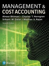 Management and Cost Accounting with MyLab Accounting