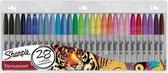 Afbeelding van Sharpie Permanentmarkers - Viltstift - 0.9mm - Diverse kleuren - 28 stuks