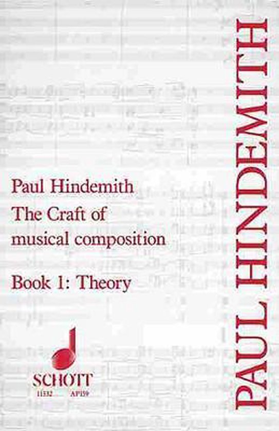 Afbeelding van The Craft of Musical Composition, Book I
