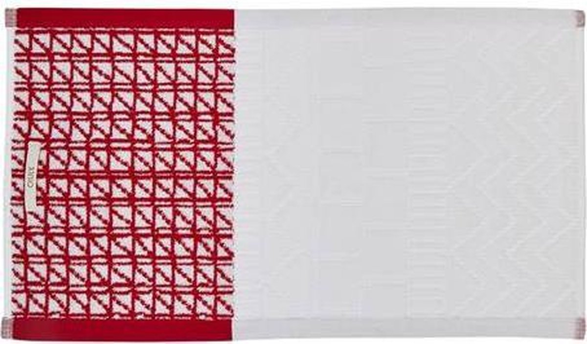 OLY Moon Rock Guest towel Red 30x50 - Oilily