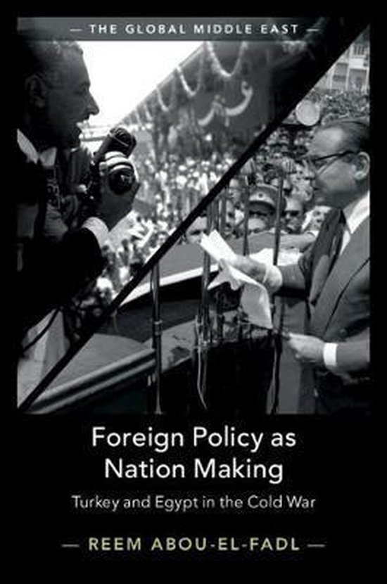 Boek cover Foreign Policy as Nation Making van Reem Abou-El-Fadl (Hardcover)