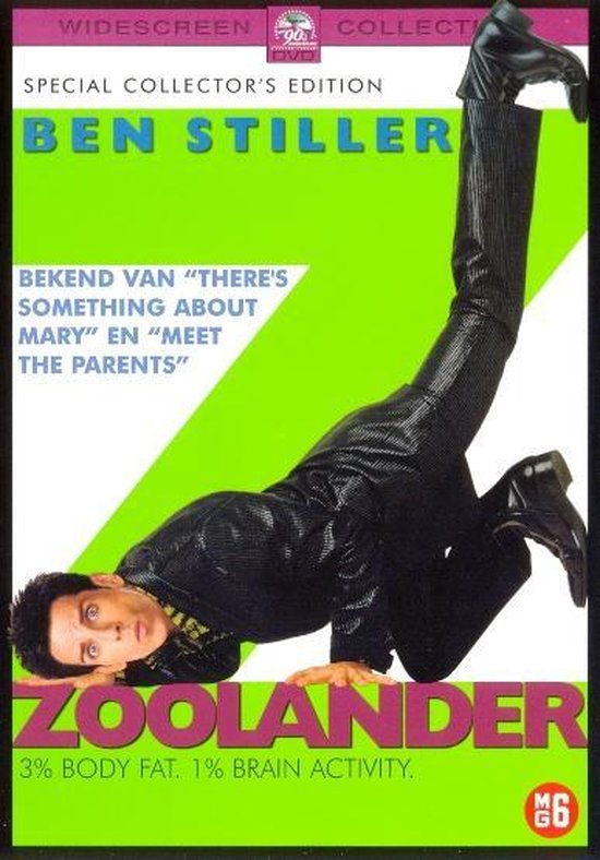 Cover van de film 'Zoolander'