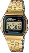 Casio Collection A159WGEA-1EF - Horloge - 33.2 mm - Staal - Goudkleurig