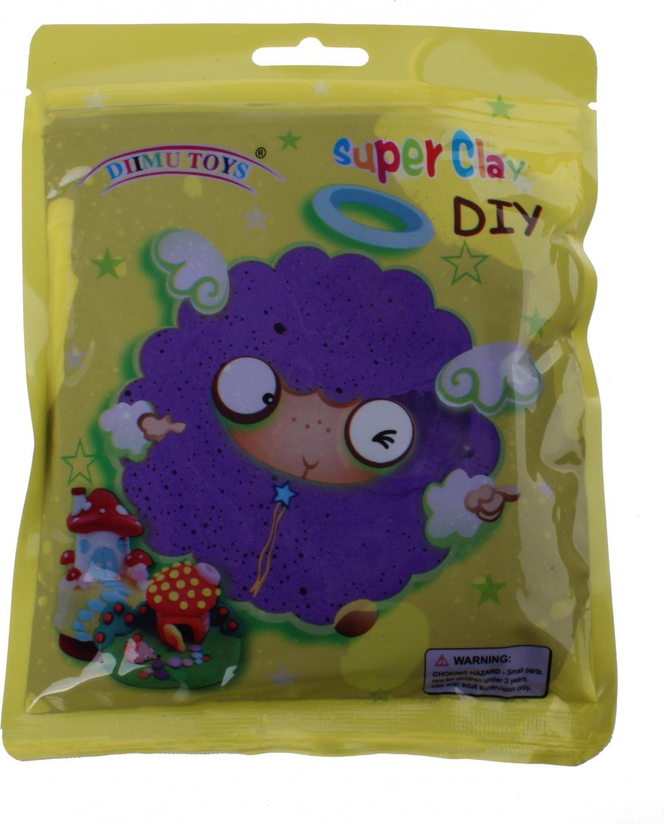 Lg-imports Air Clay 60 Gram Donkerpaars