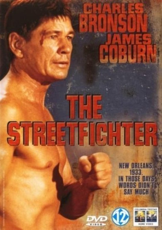 Cover van de film 'The Streetfighter'