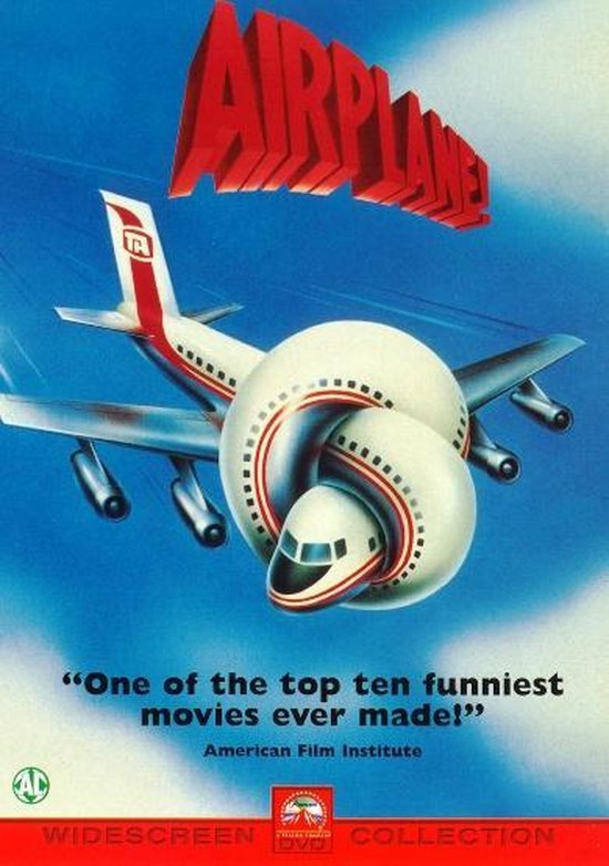 Cover van de film 'Airplane 1'