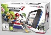Nintendo 2DS Console - Zwart/Blauw + Mario Kart 7