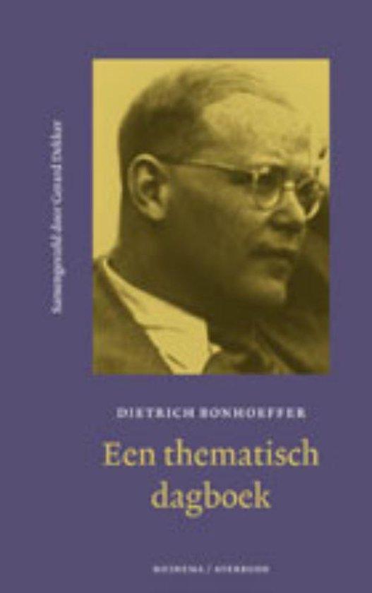 Een Thematisch Dagboek - Dietrich Bonhoeffer   Readingchampions.org.uk