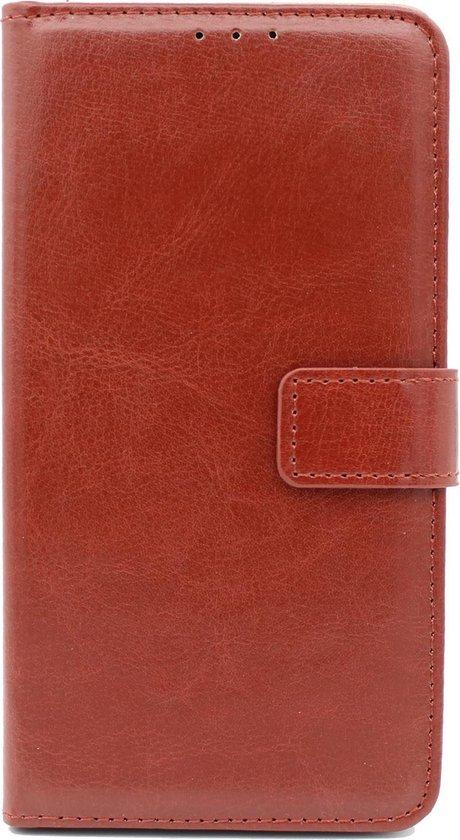 Samsung Galaxy A10 Hoesje - Portemonnee Book Case - Kaarthouder & Magneetlipje - Bruin