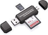 USB multifuntionele kaart lezer - Micro SD , SD , 4 in 1 USB