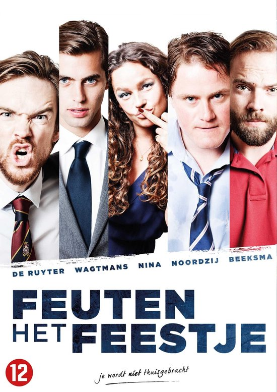 Cover van de film 'Feuten: Het Feestje'