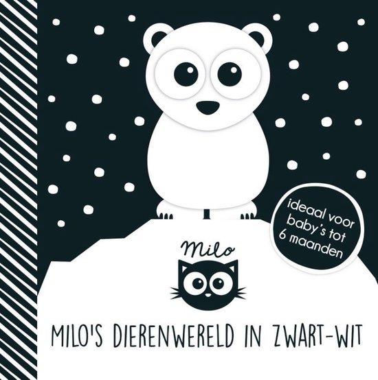 Boek cover Baby ziet...  -   Milos dierenwereld in zwart-wit van Rowena Blythe (Paperback)