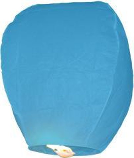 Wensballon - Wensballonnen - XL - 2 STUKS - Lichtblauw