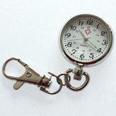 Klassiek verpleegsters Horloge met clip - 30mm