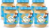 NaturNes® Bio Pastinaak, Pompoen, Volkoren Pasta, Kalkoen 8+ mnd babyvoeding biologisch - 6 potjes