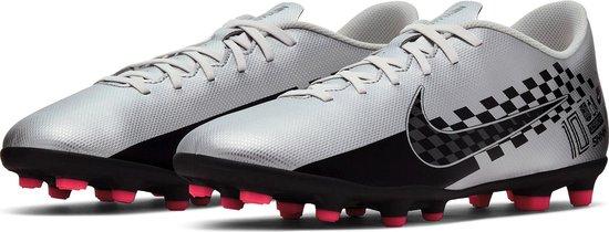 Nike Mercurial Vapor 13 Club Neymar MG Sportschoenen Maat 42 Mannen zilverzwartroze