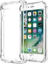 Afbeelding van Doorzichtig Hoesje iPhone 7/8 Siliconen Shock Proof TPU Case - met verstevigde randen