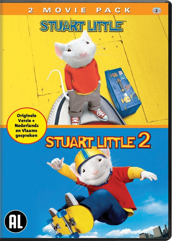 Bol Com Stuart Little 1 2 Duo Pack Dvd Dvd S