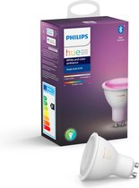 Philips Hue - White and Color Ambiance - GU10 - losse lamp - Bluetooth
