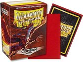 Dragon Shield Card Sleeves: Standard Matte Crimson (63x88mm) - 100 stuks