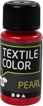 Textile Color, rood, pearl, 50ml