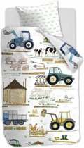 BH Kids Farm White 140x200/220