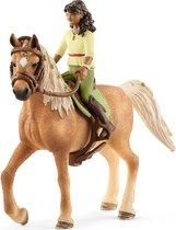 Schleich Sarah en Mystery 42517 - Paard Speelfiguur - Horse Club - 5 x 18 x 15 cm