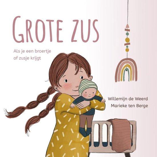 Boek cover Grote zus van Willemijn de Weerd (Hardcover)