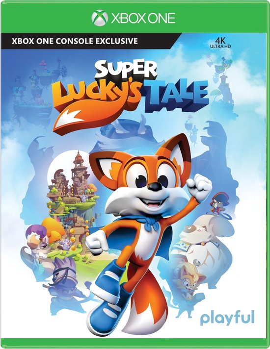 Microsoft Super Lucky's Tale, Xbox One video-game Basis