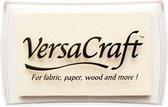 Versa craft inktkussen Versacraft VK-180 White wit inktkussen stempelinkt voor papier, stof, leer, hout, krimpfolie, porselein, etc.
