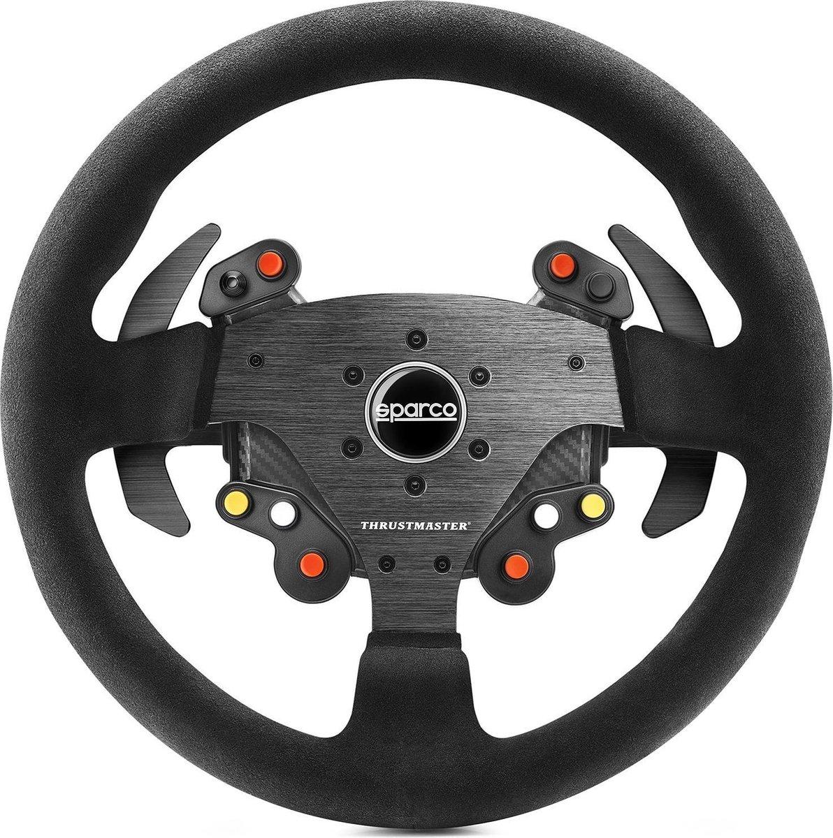 Thrustmaster Rally Wheel Add-On Sparco  R383 Mod Stuur PC, PlayStation 4, Xbox One Koolstof