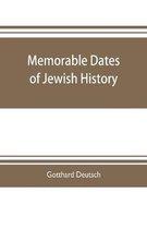 Memorable dates of Jewish history