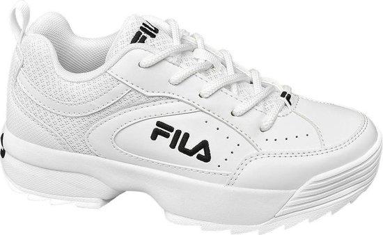 bol.com | Fila Kinderen Witte Chunky sneaker - Maat 35